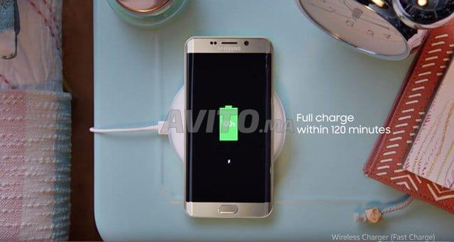 Samsung chargeur sans fil S6/S7/S8 Iphone 8 neuf - 1