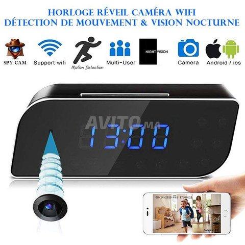 Caméra WIFI Horloge réveil HD 1080P Night vision - 1