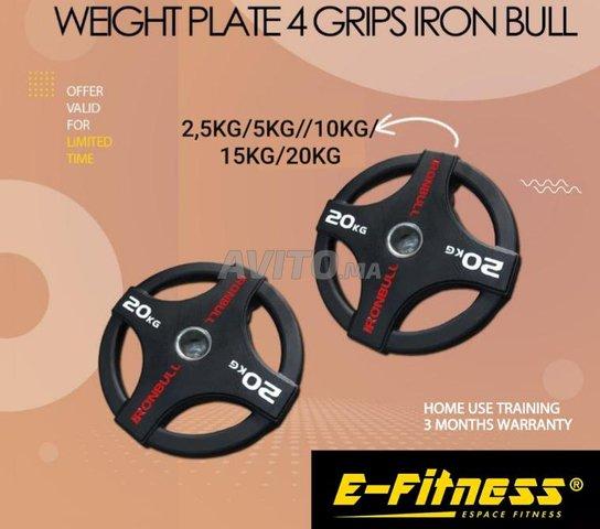 disque olympique ironbull professionnel  - 1