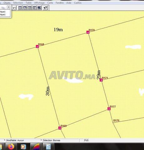 Terrain de 565m net commerce plus 3 niv à riviera  - 1