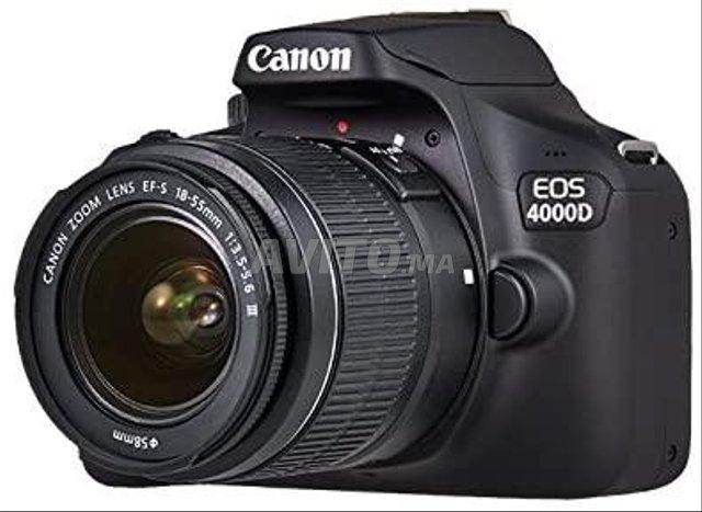 Canon EOS 4000D Appareil Photo Objet EF-S 18-55mm - 1