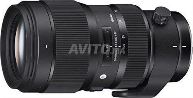 Sigma Objectif 50-100mm F1 8 DC HSM ART Canon   - 1