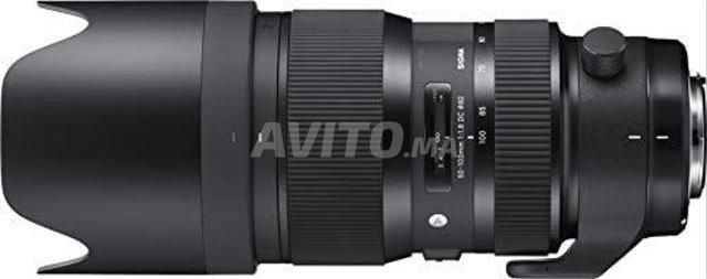 Sigma Objectif 50-100mm F1 8 DC HSM ART Canon   - 3