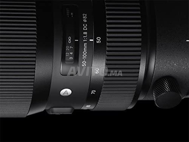 Sigma Objectif 50-100mm F1 8 DC HSM ART Canon   - 4