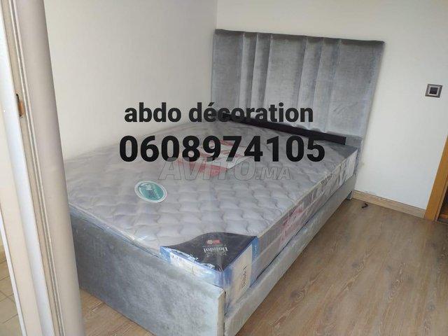 غرف النوم لشخصين 140/190 - 1