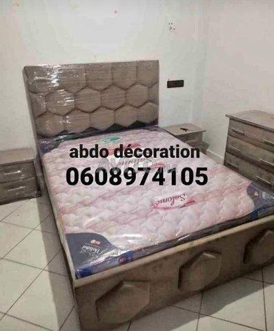 غرف النوم لشخصين 140/190 - 3