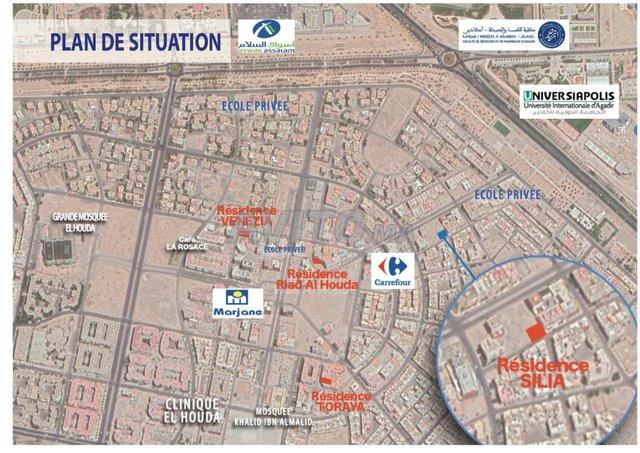 Appartement F4 93 m2 HS facilité paie Houda Agadir - 4