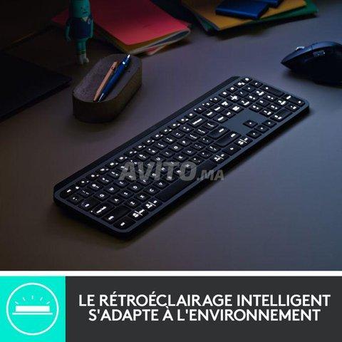 Clavier Logitech MX Keys Advanced Azerty sans Fil  - 3