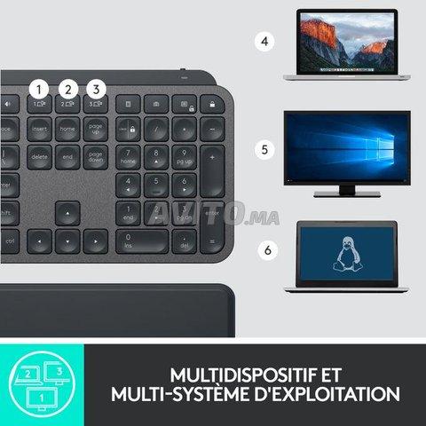 Clavier Logitech MX Keys Advanced Azerty sans Fil  - 6