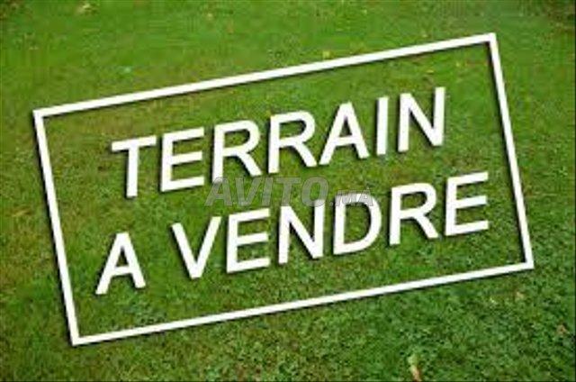Terrain R3 commercial 2 facades  à Mehdia - 1
