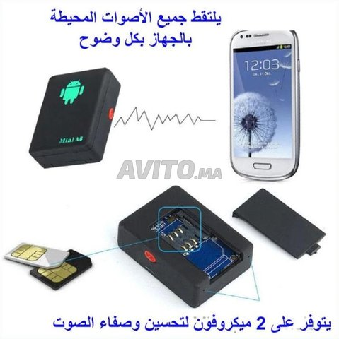 Mini Micro cachée A8 pour ecouter et espionner  - 2