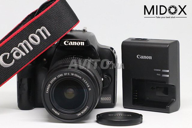 Canon 1000D 18-55mm MAGASIN Midox SHOP - 1