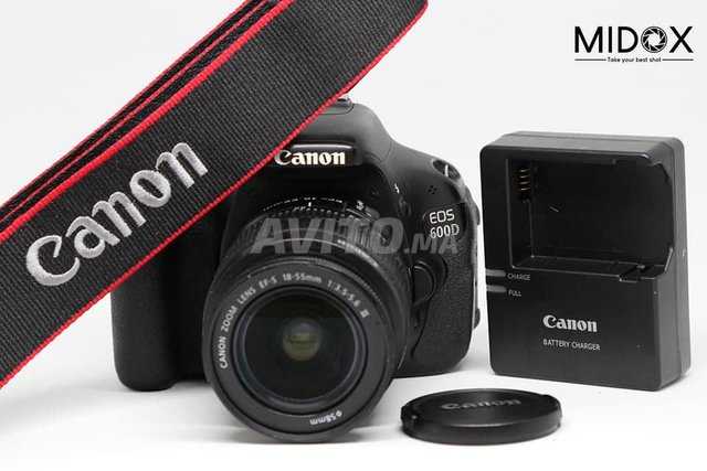 Canon 600D Promotion 18-55mm MAGASIN Midox SHOP - 1