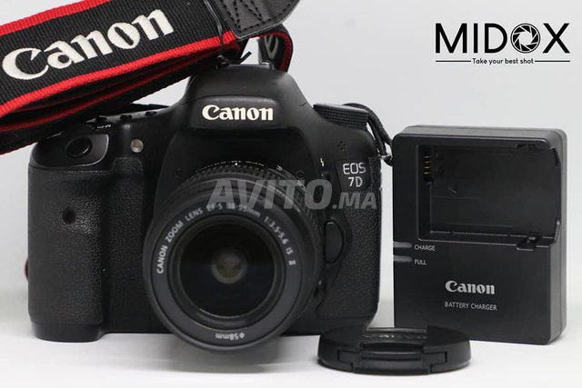Canon 7D 18-55mm PROMOTION MAGASIN Midox SHOP - 1