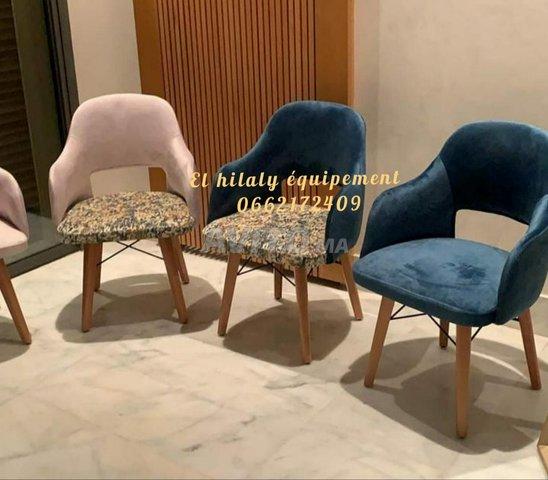 Chaise et table café - 2