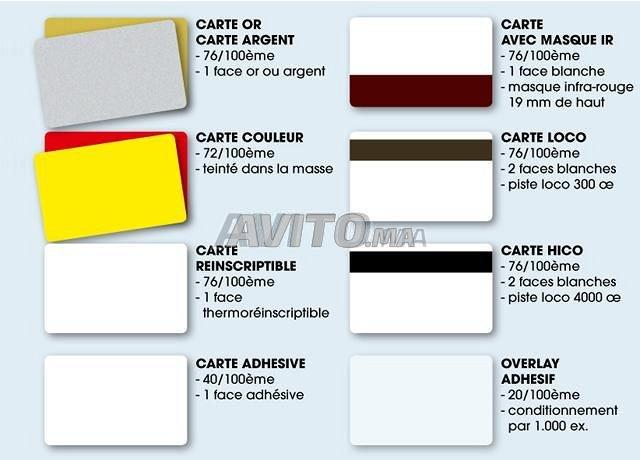 Ruban et consommables imprimant à badge  - 2
