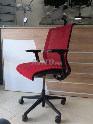 CHAISE STEELCASE ROUGE - 2