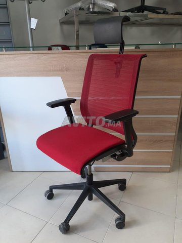 CHAISE STEELCASE ROUGE - 1