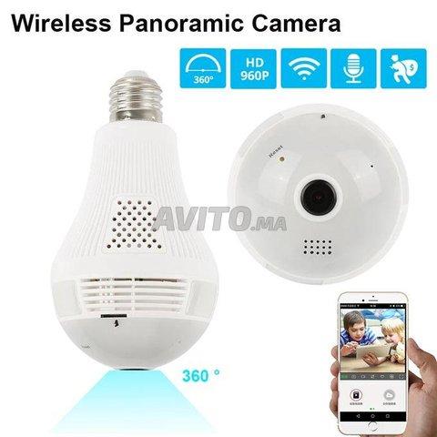 Ampoule Caméra WiFi Full HD Accès à Distance - 1