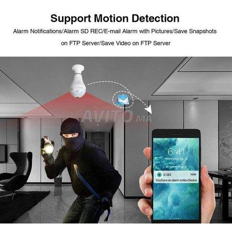 Ampoule Caméra WiFi Full HD Accès à Distance - 2