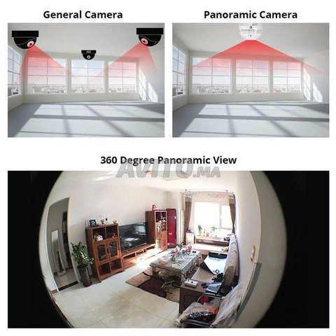 Ampoule Caméra WiFi Full HD Accès à Distance - 5