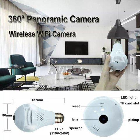 Ampoule Caméra WiFi Full HD Accès à Distance - 6