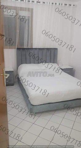 Chambre à coucher moderne lit  .          - 7