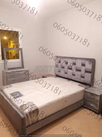 Chambre à coucher moderne lit  .          - 1
