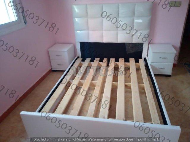 Chambre à coucher moderne lit  .          - 2