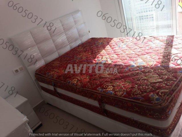 Chambre à coucher moderne lit  .          - 3
