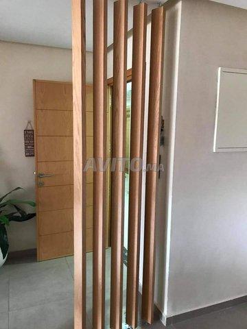 Séparation en bois chêne - 4