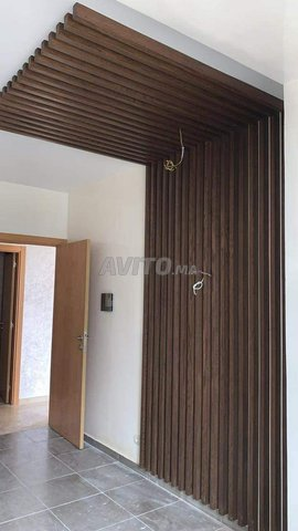 Habillage murale en lamelle bois - 3