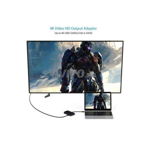 Dodocool 8 En 1 Hub Usb Type C RG45 HDMI 4K - 2