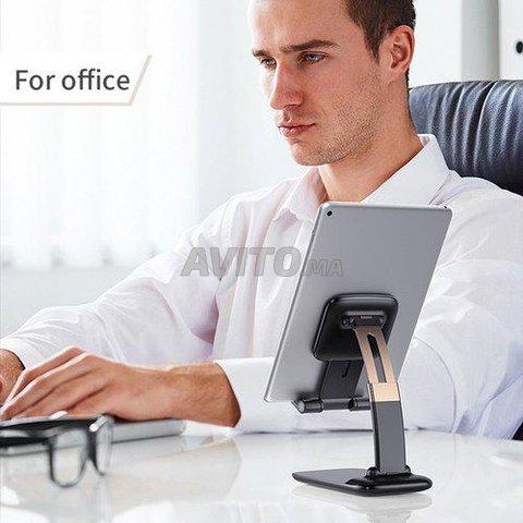 Porte-téléphone à bureau noir Expode Innovations - 4