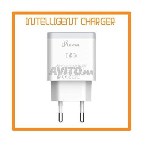 Plustar Quick Fast chargeur  V8 18W original - 2