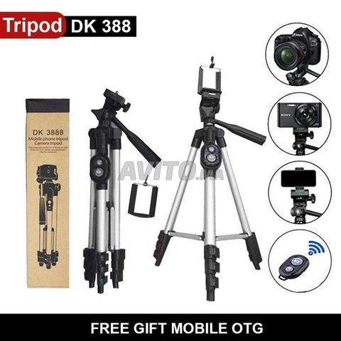 tripod Support DK3888 pour camera et telephone  - 1