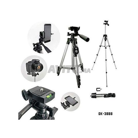 tripod Support DK3888 pour camera et telephone  - 4