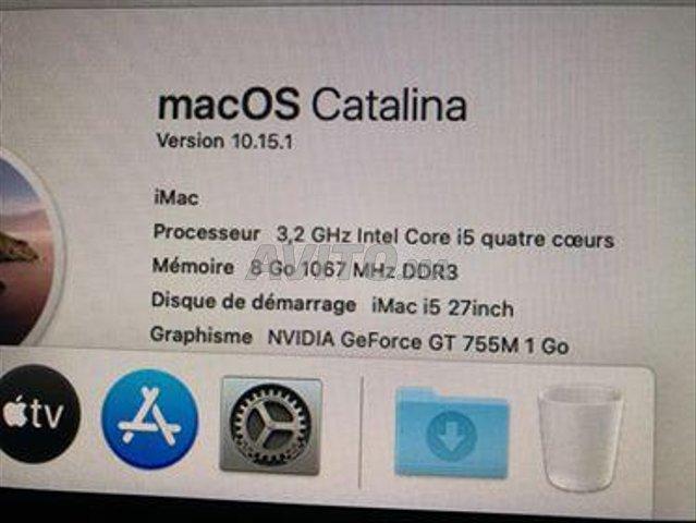 IMAC I5 slim 27 inch 3.2 GHZ 8Go 1TB.. - 2