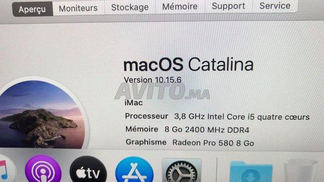 iMac i5 5k Retina 27inch 3.8Ghz 500S GRAPHICS 8GO. - 4