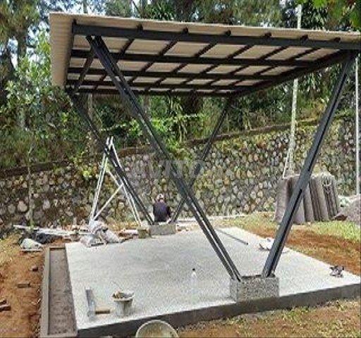 Abris métal - bois - escaliers - 3