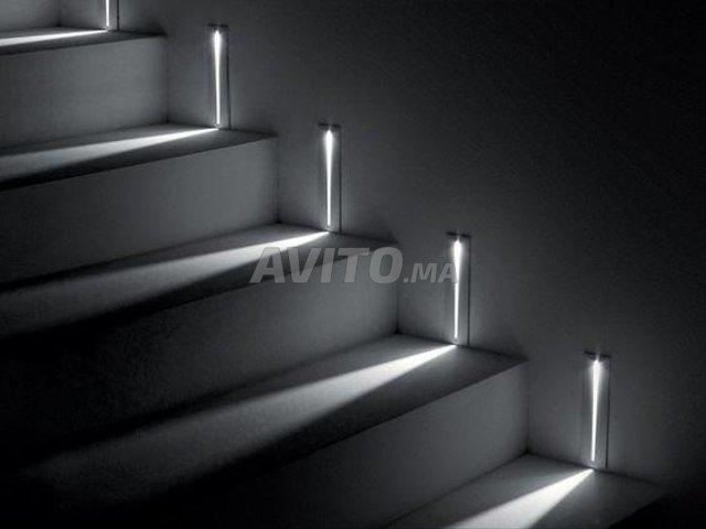 Abris métal - bois - escaliers - 8