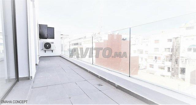 Studio 5è étage 62m2 Clim Terrasse Garage Gauthier - 7