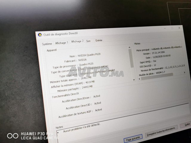 Lenovo Thinkpad P73 i7 9TH 50Go Ram 2TB SSD Nvidi - 3