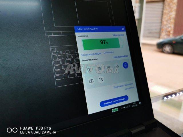Lenovo Thinkpad P73 i7 9TH 50Go Ram 2TB SSD Nvidi - 8