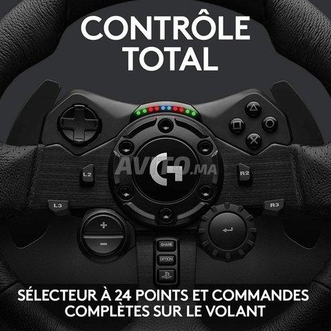 VOLANT G923 LOGITECH POUR PS (4 - 5) ET PC - 2