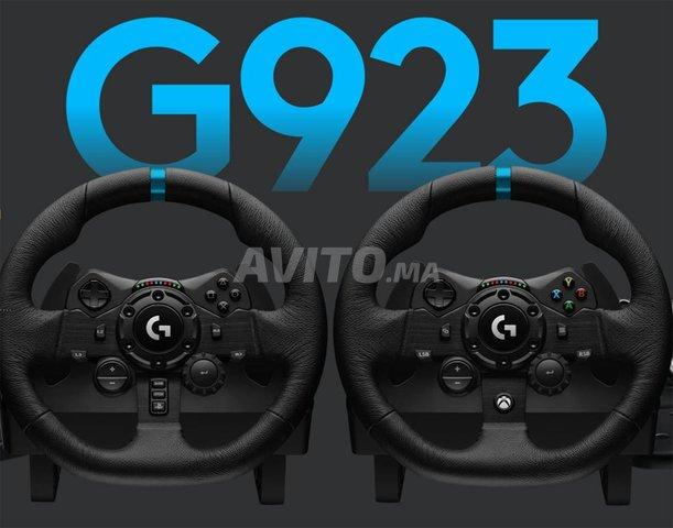 VOLANT G923 LOGITECH POUR PS (4 - 5) ET PC - 1