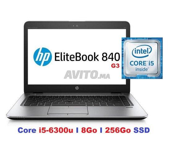 HP EliteBook 840 G3 Core i5-6300U I8Go I256 Go SSD - 1