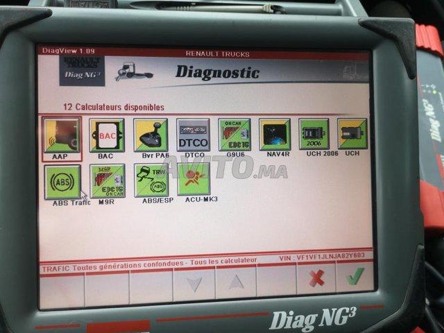 valise diagnostic RENAULT UTILITAIRES - 4