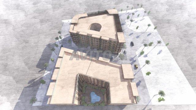 Magnifique appart 52 m² avec piscine a l'hivernage - 2