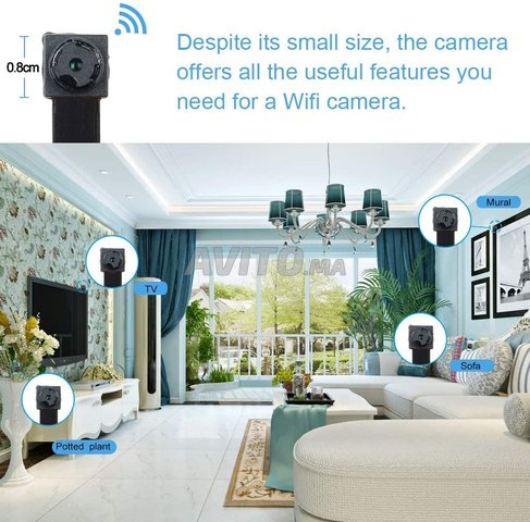 mini caméra IP wifi 4K - 3